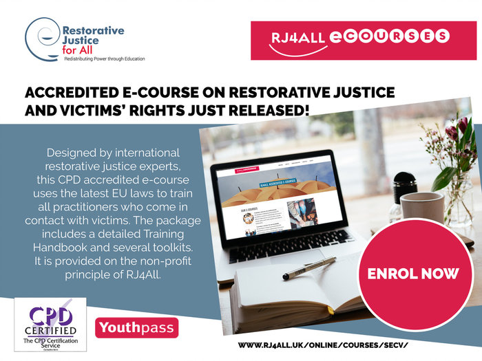 Safeguarding & Empowering crime victims e-course