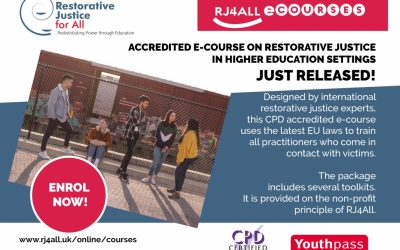 Restorative justice in higher education settings e-course