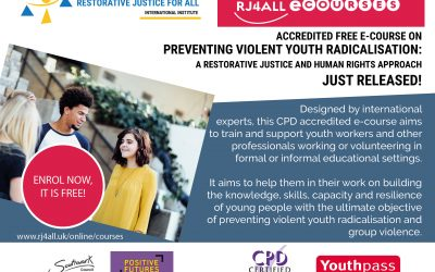Preventing violent youth radicalisation e-course: A restorative justice and human rights approach