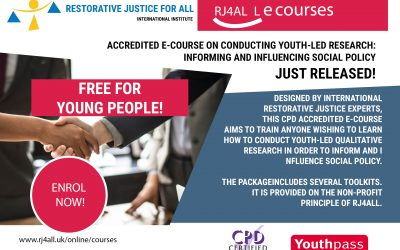 Conducting youth-led research: Informing and influencing social policy