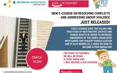 Resolving conflicts and addressing group violence ecourse for young people