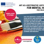 Art as a restorative justice tool for mental health